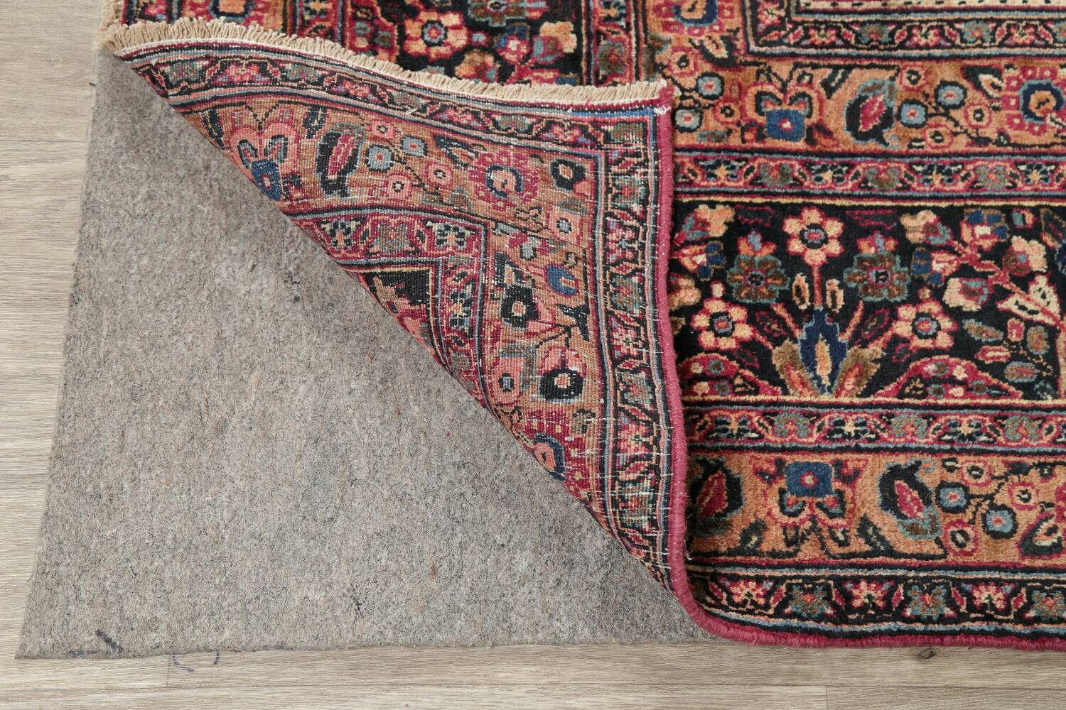 Antique Floral Red Dorokhsh Persian Rug Large 11x14 image 7