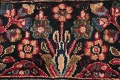 Antique Floral Red Dorokhsh Persian Rug Large 11x14 image 9