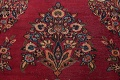 Antique Floral Red Dorokhsh Persian Rug Large 11x14 image 10