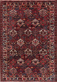 Vintage All-Over Bakhtiari Persian Area Rug 7x10