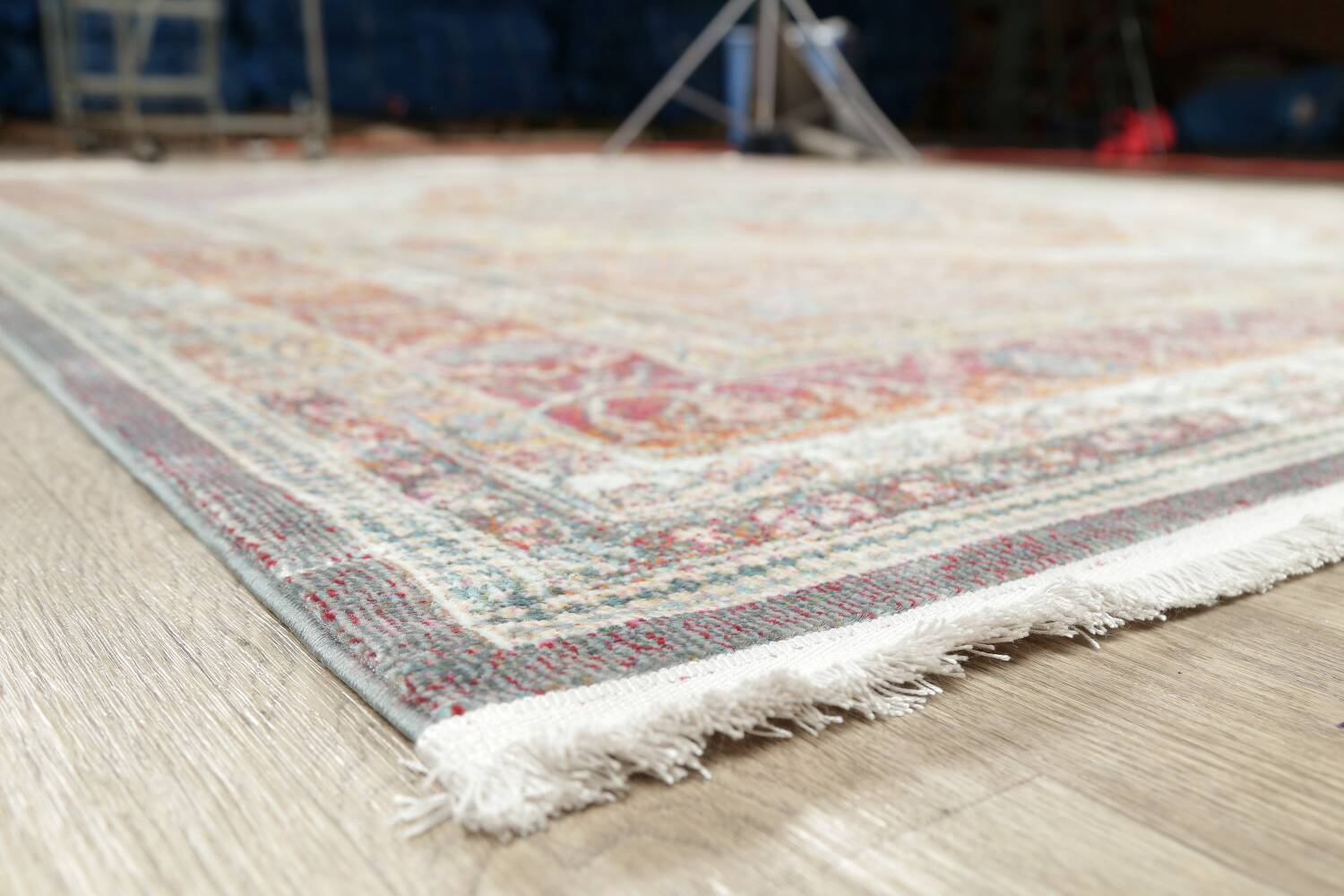 Traditional Floral Distressed Turkish Oriental Rugs image 5