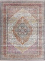 Traditional Floral Distressed Turkish Oriental Rugs image 1