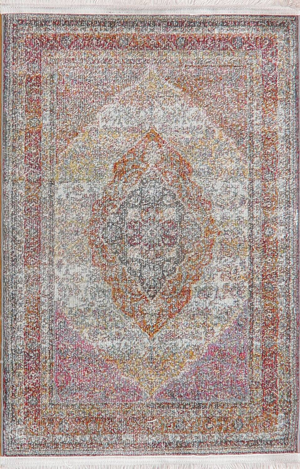 Traditional Floral Distressed Turkish Oriental Rugs image 7