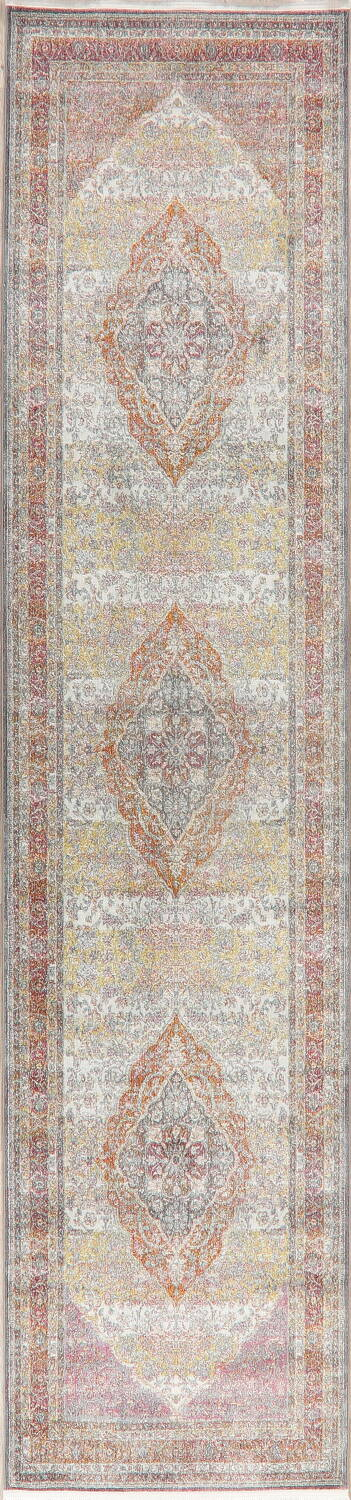 Traditional Floral Distressed Turkish Oriental Rugs image 9