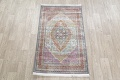 Traditional Floral Distressed Turkish Oriental Rugs image 11