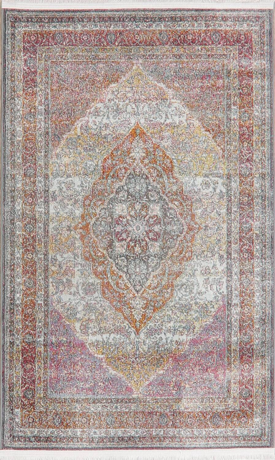 Traditional Floral Distressed Turkish Oriental Rugs image 13