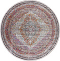 Traditional Floral Distressed Turkish Oriental Rugs image 18