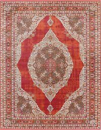 Floral Distressed Turkish Oriental Rugs