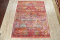 Hunting Design Pictorial Distressed Heat-Set Area Rugs image 2