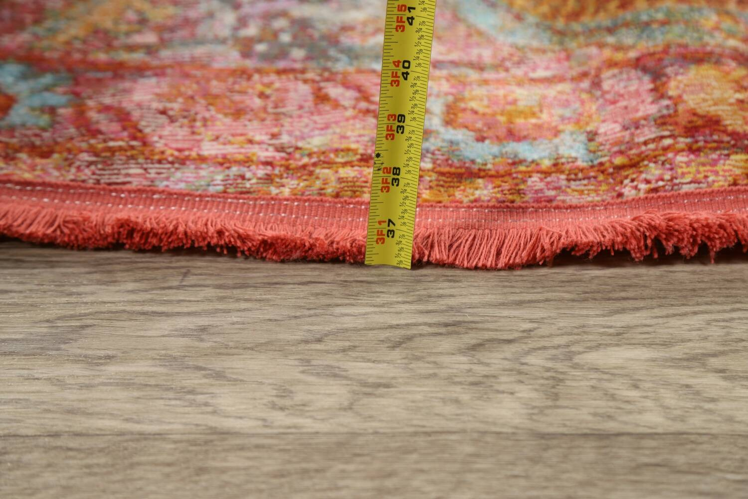 Hunting Design Pictorial Distressed Heat-Set Area Rugs image 20