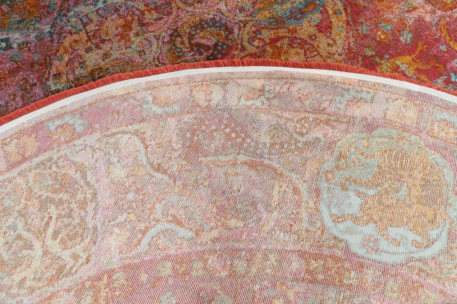 Hunting Design Pictorial Distressed Heat-Set Area Rugs image 22