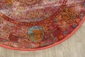 Hunting Design Pictorial Distressed Heat-Set Area Rugs image 17
