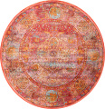 Hunting Design Pictorial Distressed Heat-Set Area Rugs image 15