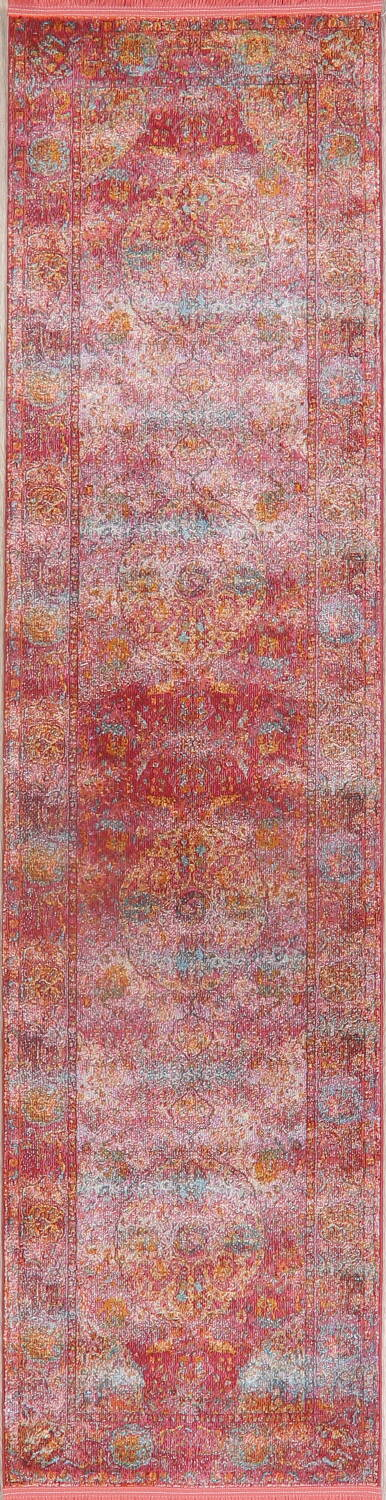 Hunting Design Pictorial Distressed Heat-Set Area Rugs image 27