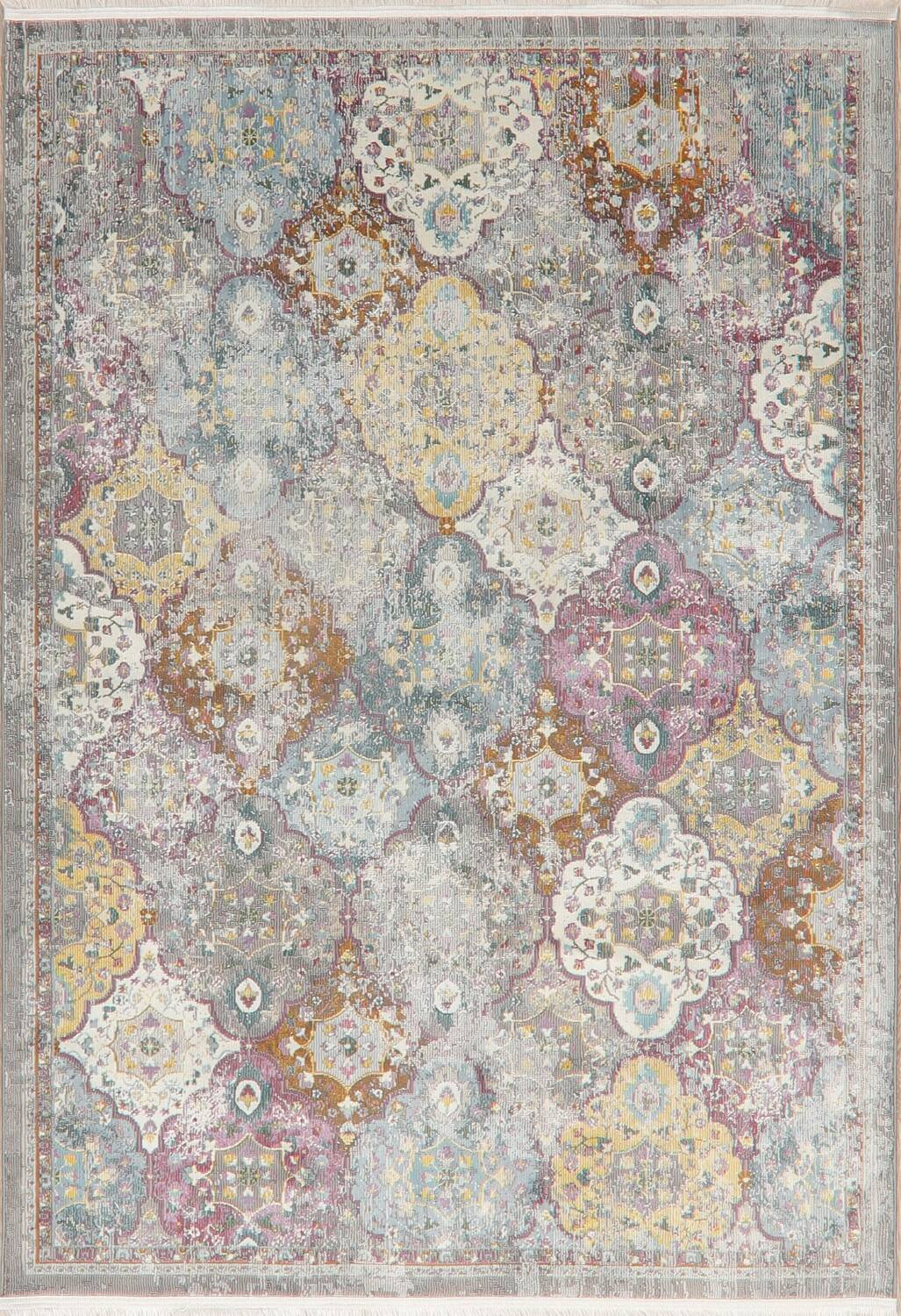 Vintage Style Distressed Heat-Set Area Rugs image 11