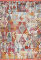 Vintage Style Abstract Distressed Heat-Set Area Rugs image 11