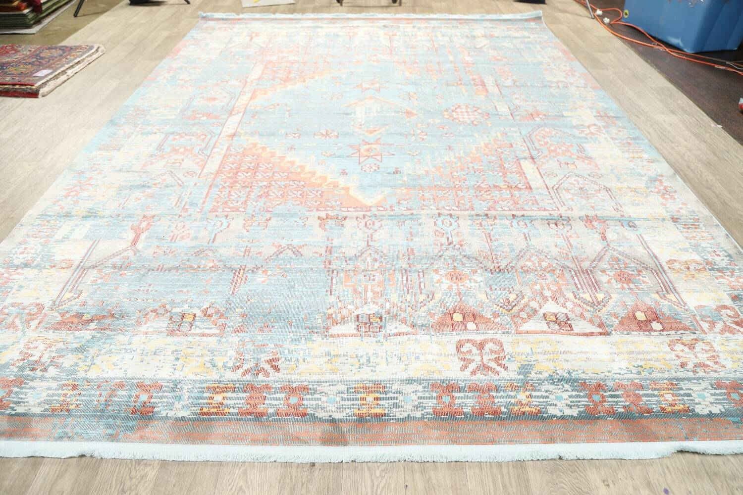 Vintage Style Distressed Heat-Set Area Rugs image 8