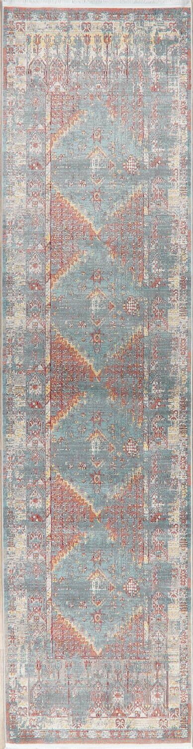 Vintage Style Distressed Heat-Set Area Rugs image 13