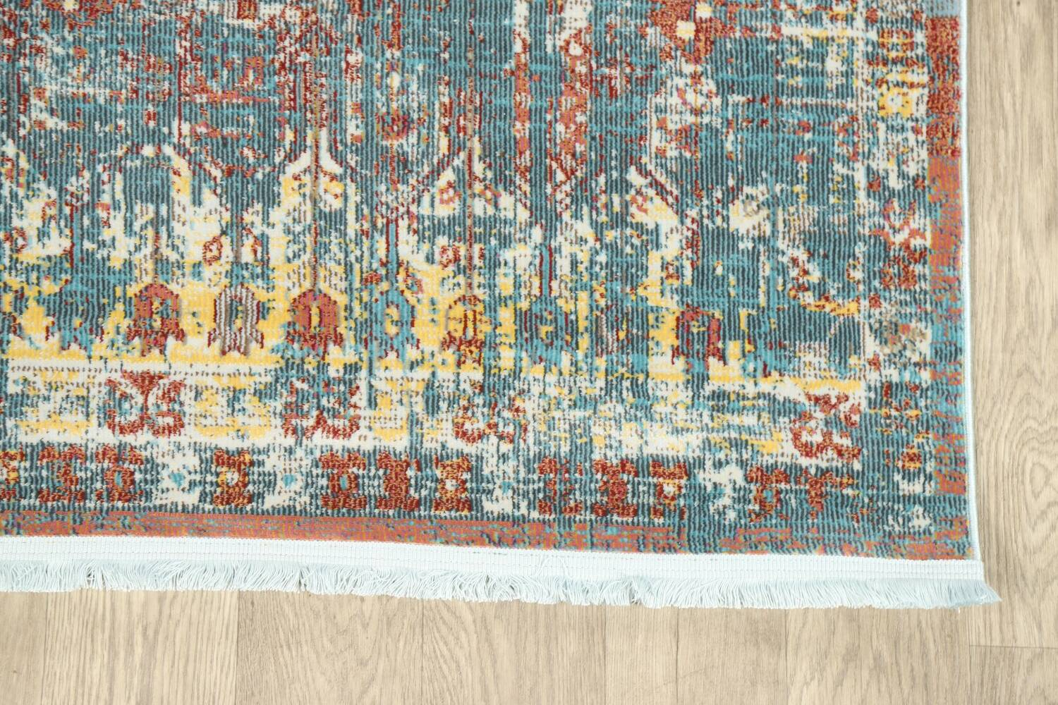 Vintage Style Distressed Heat-Set Area Rugs image 18
