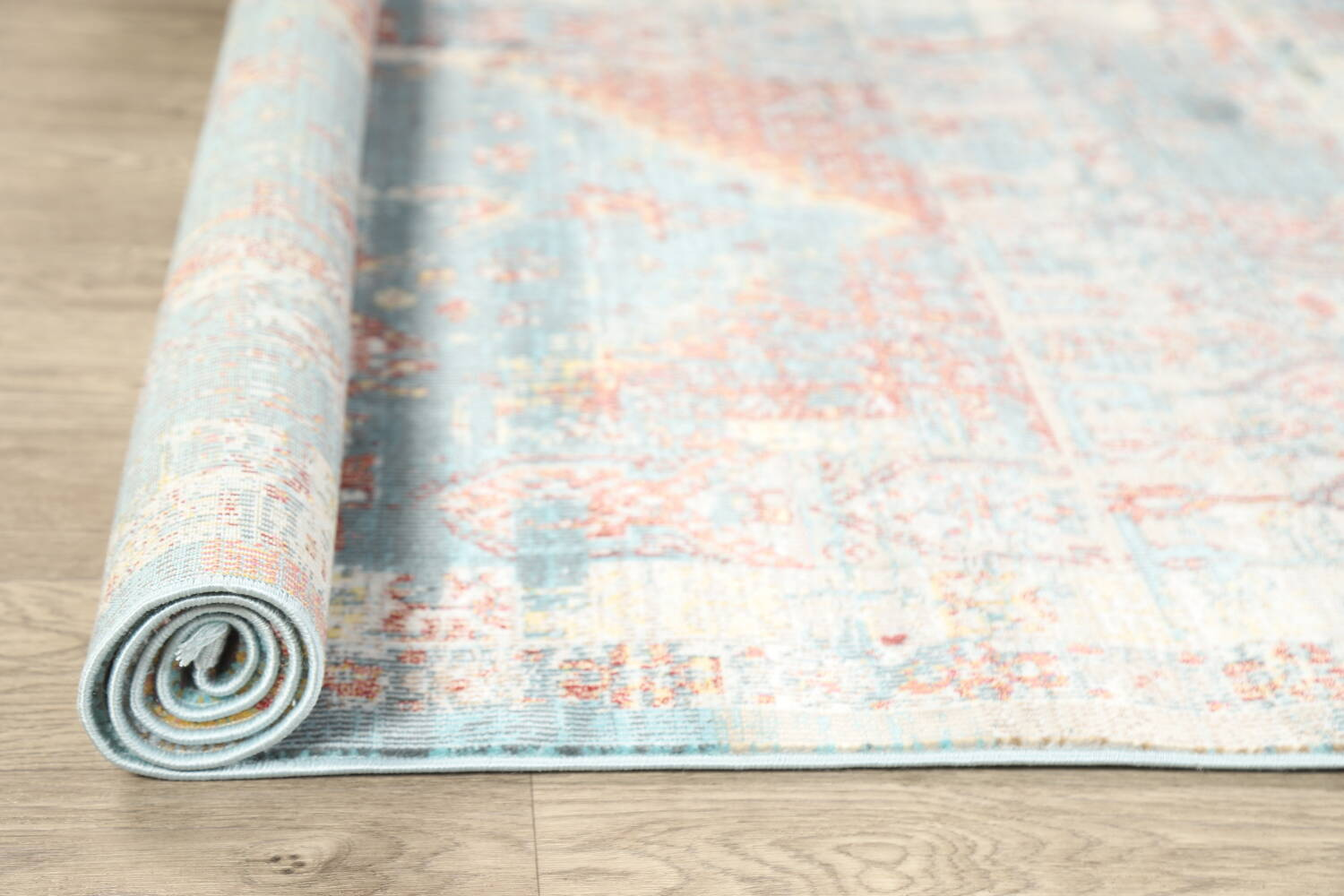 Vintage Style Distressed Heat-Set Area Rugs image 21