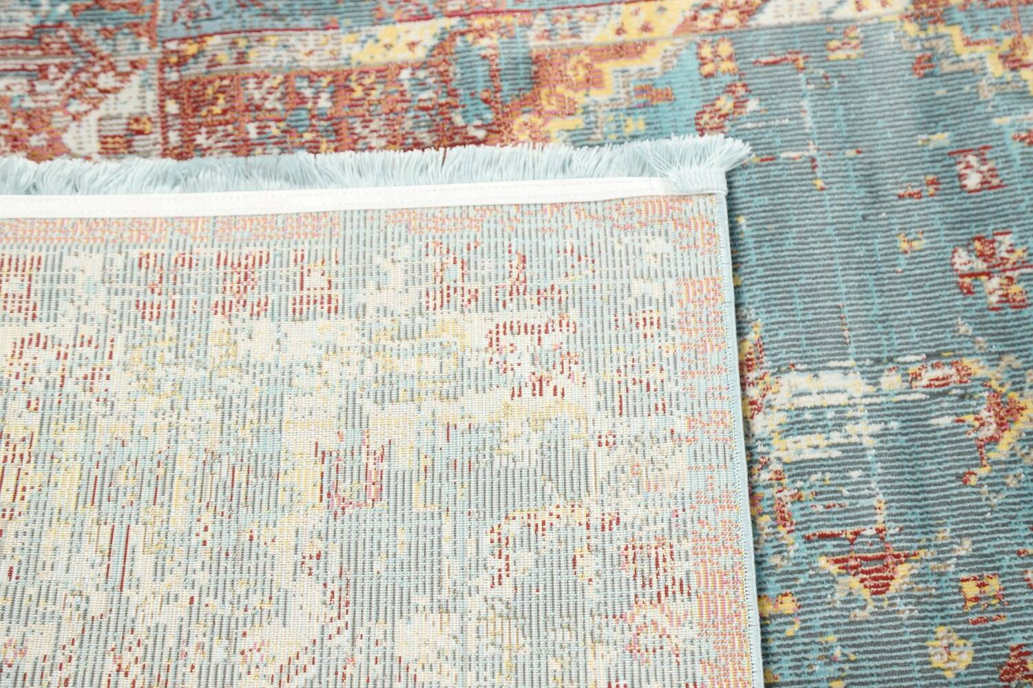 Vintage Style Distressed Heat-Set Area Rugs image 24