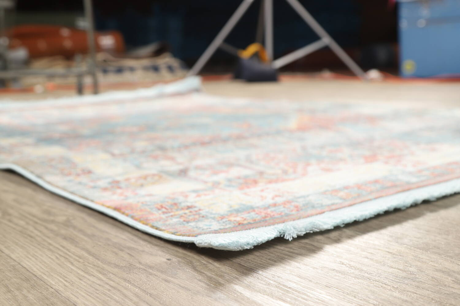 Vintage Style Distressed Heat-Set Area Rugs image 25
