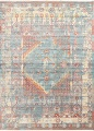 Vintage Style Distressed Heat-Set Area Rugs image 28