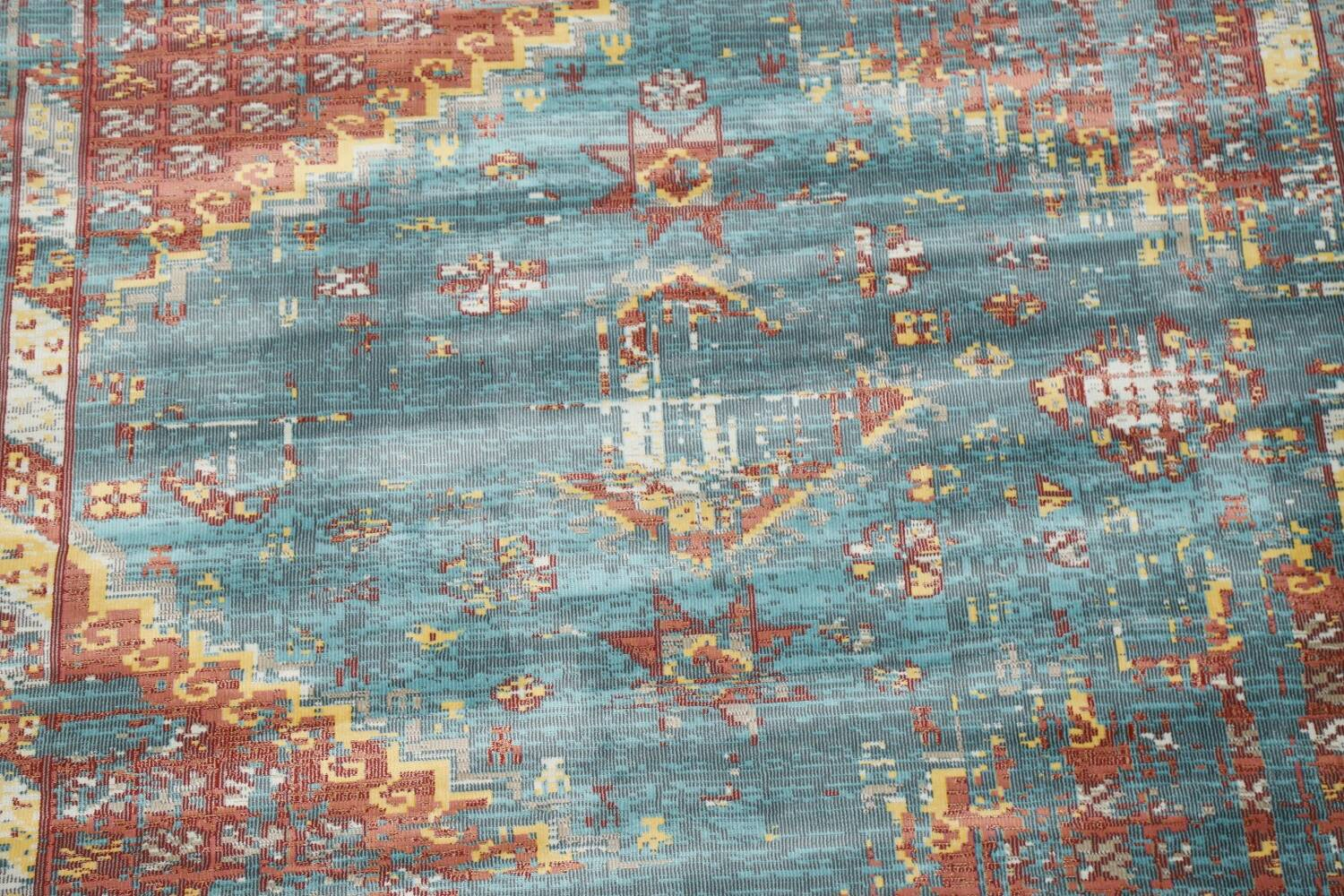 Vintage Style Distressed Heat-Set Area Rugs image 43
