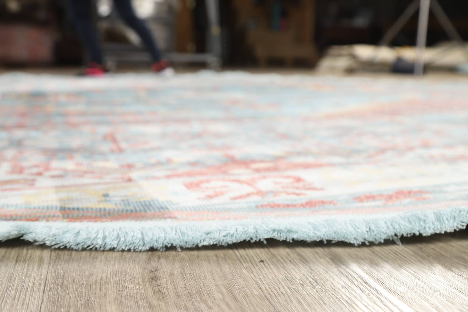 Vintage Style Distressed Heat-Set Area Rugs image 49