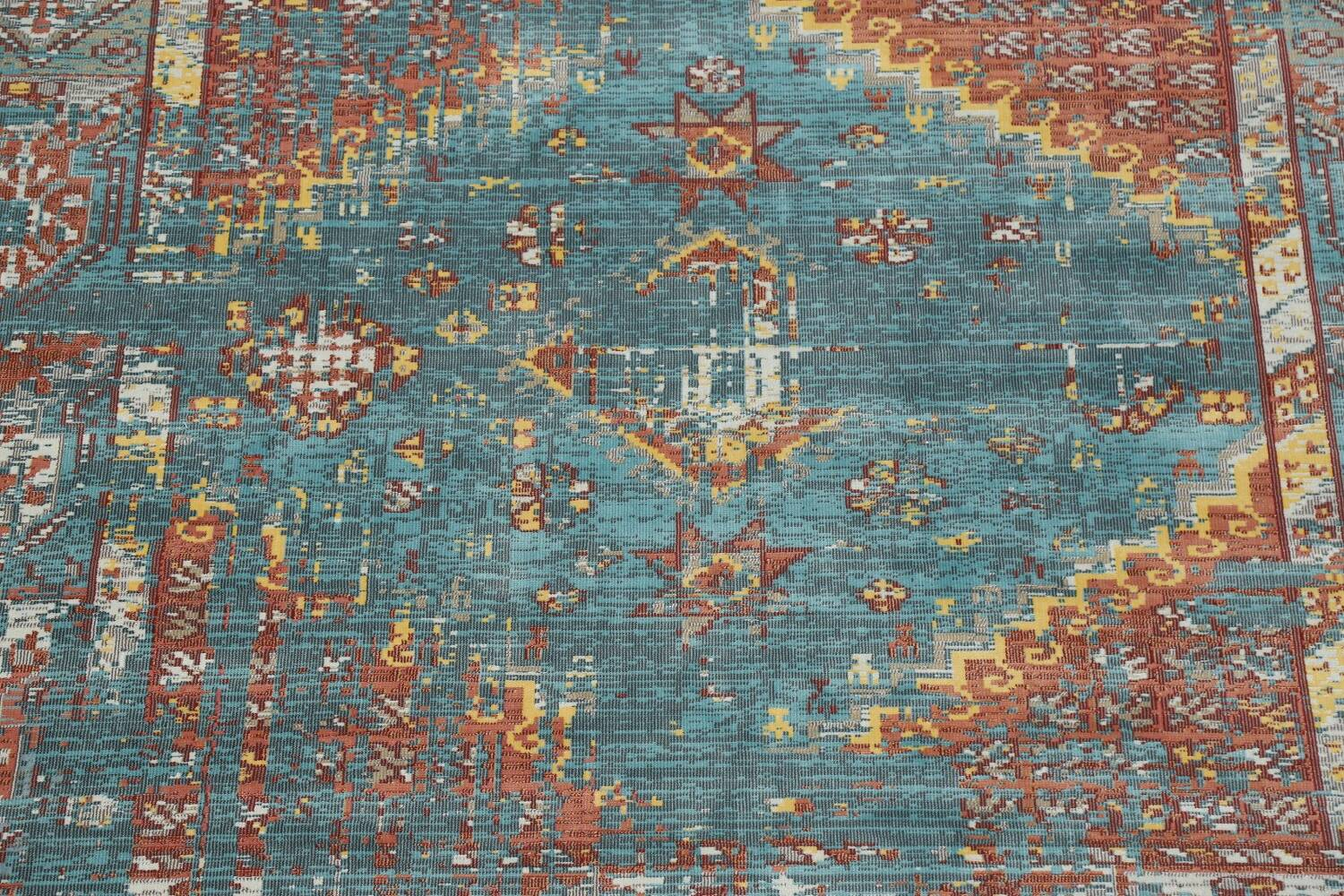 Vintage Style Distressed Heat-Set Area Rugs image 53