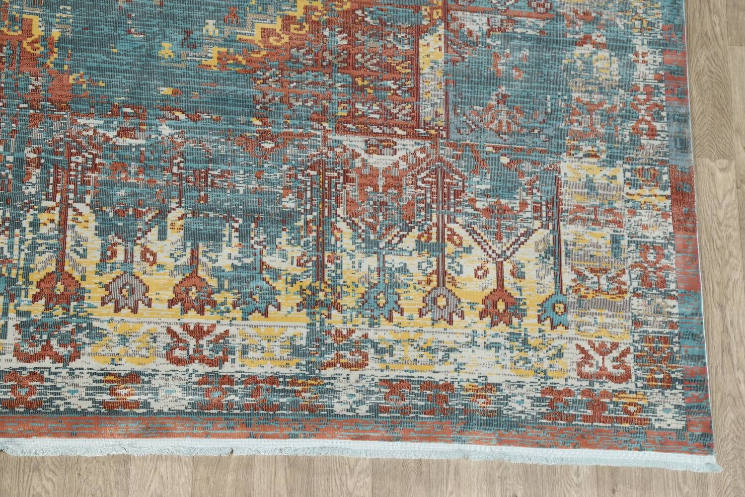 Vintage Style Distressed Heat-Set Area Rugs image 54