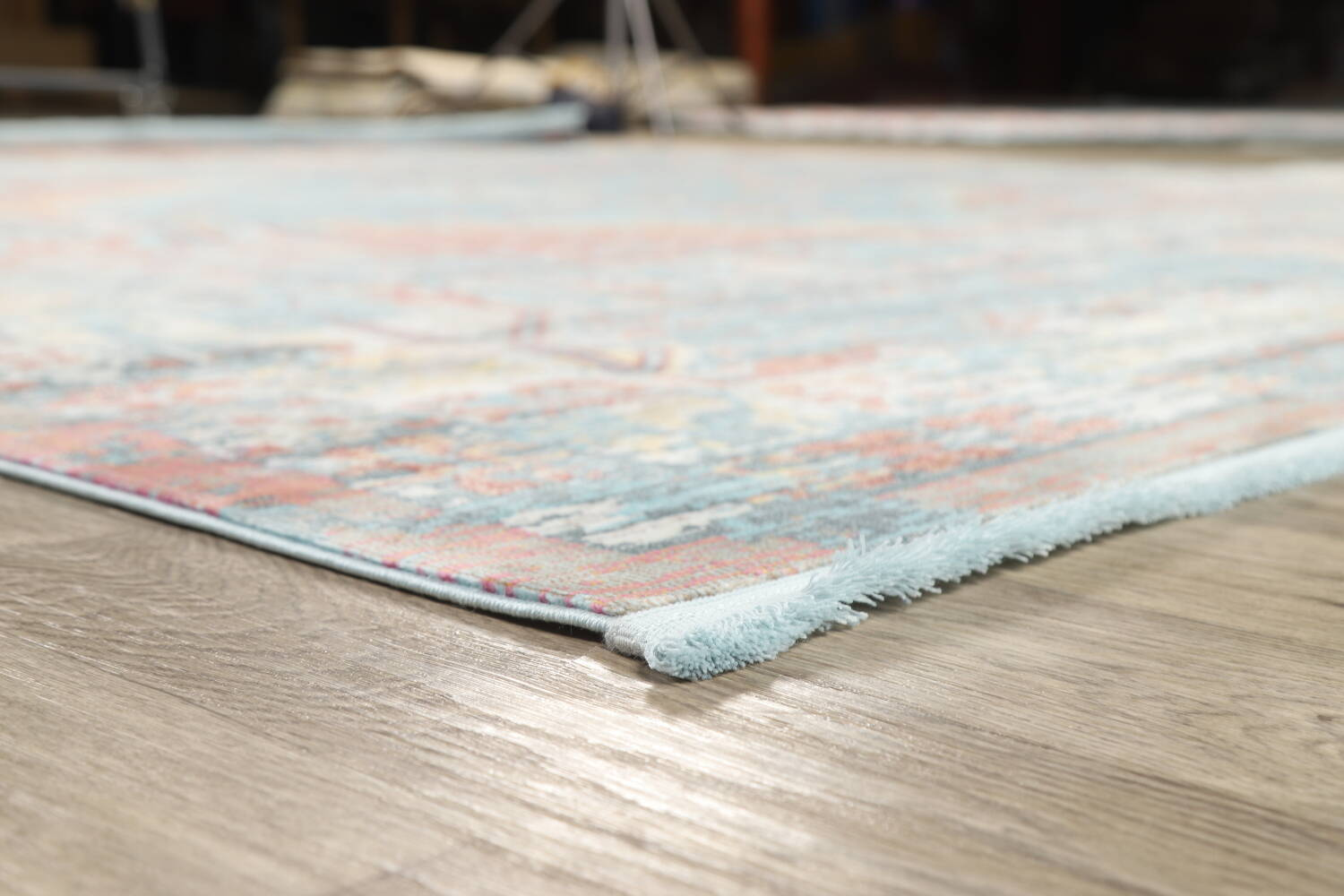 Vintage Style Distressed Heat-Set Area Rugs image 61