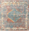 Vintage Style Distressed Heat-Set Area Rugs image 52