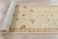 Vegetable Dye Beige Oushak Egyptian Runner Rug 3x11 image 19