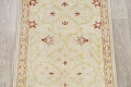 Vegetable Dye Beige Oushak Egyptian Runner Rug 3x11 image 4
