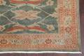 Floral Green Oushak Egyptian Area Rug 4x6 image 5