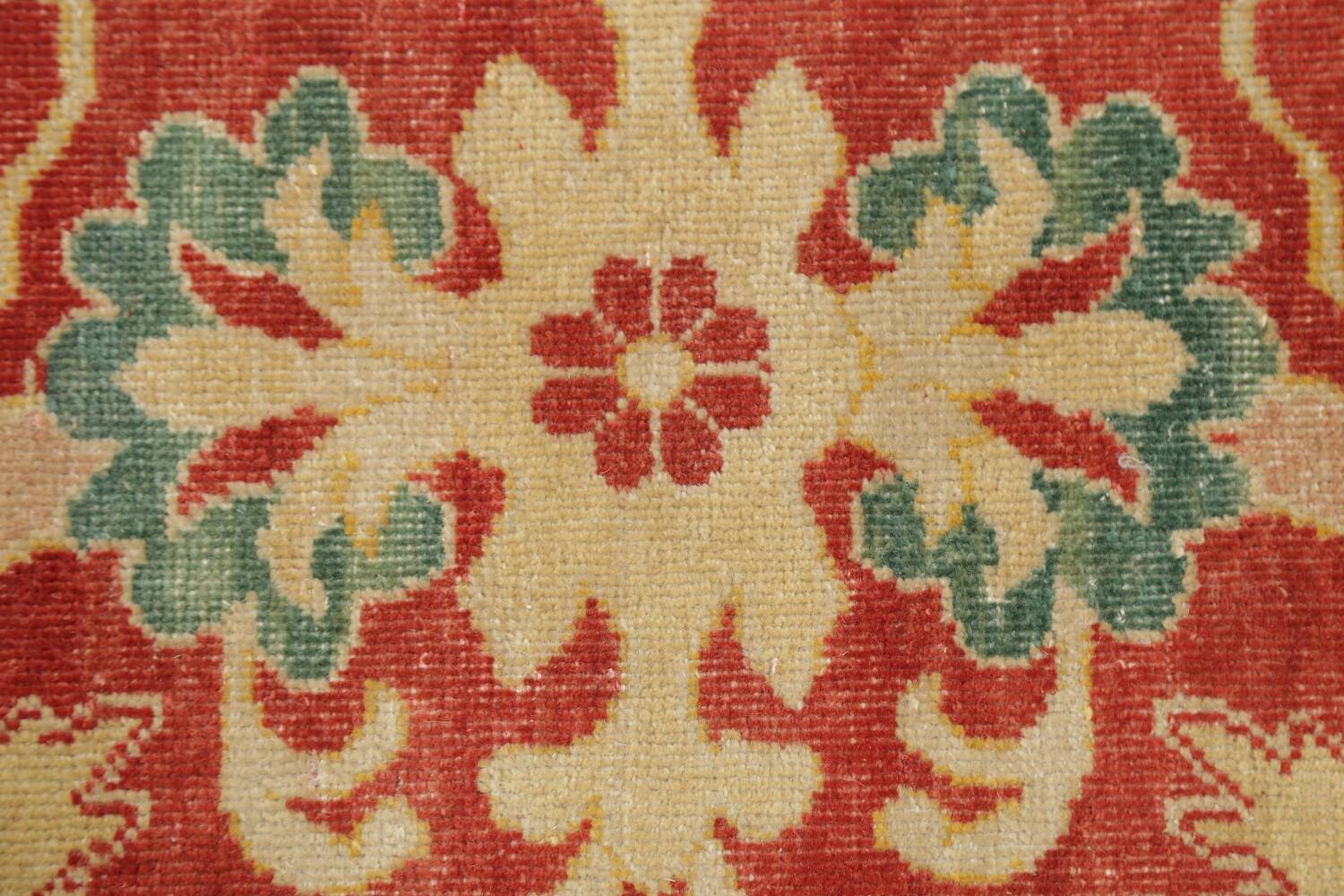 Floral Red Oushak Egyptian Area Rug 6x9 image 11