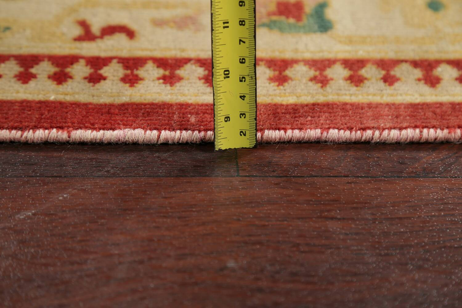 Floral Red Oushak Egyptian Area Rug 6x9 image 6