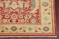 Floral Red Oushak Egyptian Area Rug 6x9 image 5