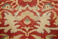 Floral Red Oushak Egyptian Area Rug 6x9 image 10