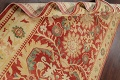 Floral Red Oushak Egyptian Area Rug 6x9 image 18