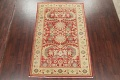 Floral Red Oushak Egyptian Area Rug 6x9 image 2