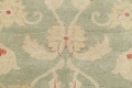 Muted Green Floral Oushak Egyptian Runner Rug 2x12 image 11