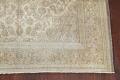Muted Distressed Antique Kashan Persian Area Rug 7x10 image 5