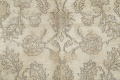 Muted Distressed Antique Kashan Persian Area Rug 7x10 image 10