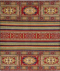 Geometric 6x8 Super Kazak Area Rug