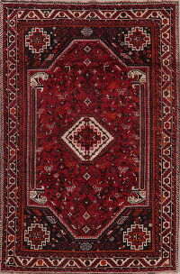 Red Tribal Lori Persian Area Rug 6x9