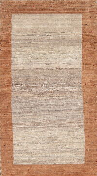 Contemporary Gabbeh Modern Persian Area Rug 2x4