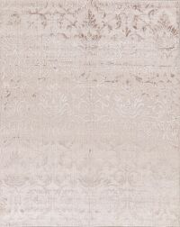 Contemporary Silk Modern Area Rug 8x10