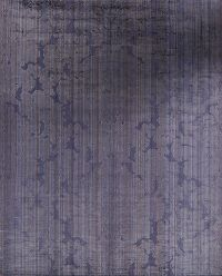 Contemporary Silk Purple Modern Oriental Area Rug 8x10
